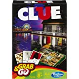 Hasbro GAMING Clue Grab & Go Game (Travel Size)