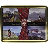 Stewart's Scotland Luxury Shortbread Assortment | Over 40 Years of Heritage | Tartan Collection | Patriotic | Scottish Design