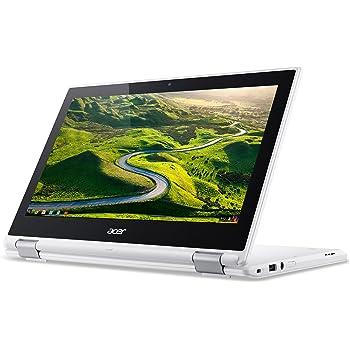 Acer Chromebook R11 CB5-132T - (Intel Celeron N3060, 4GB RAM, 32GB eMMC, 11.6 inch HD Touchscreen Display, Google Chrome OS, White)