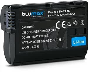 Blumax Akku Ersetzt Nikon En El15 En El15a 2000mah Elektronik