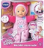 Vtech - 169405 - Poupon - Little Love - Mon Bébé Coucou-caché - Rose - Version FR