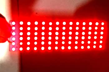 PGSA2Z DC 12V SMD 84 LED Light Bulbs with PCB (Color RED)