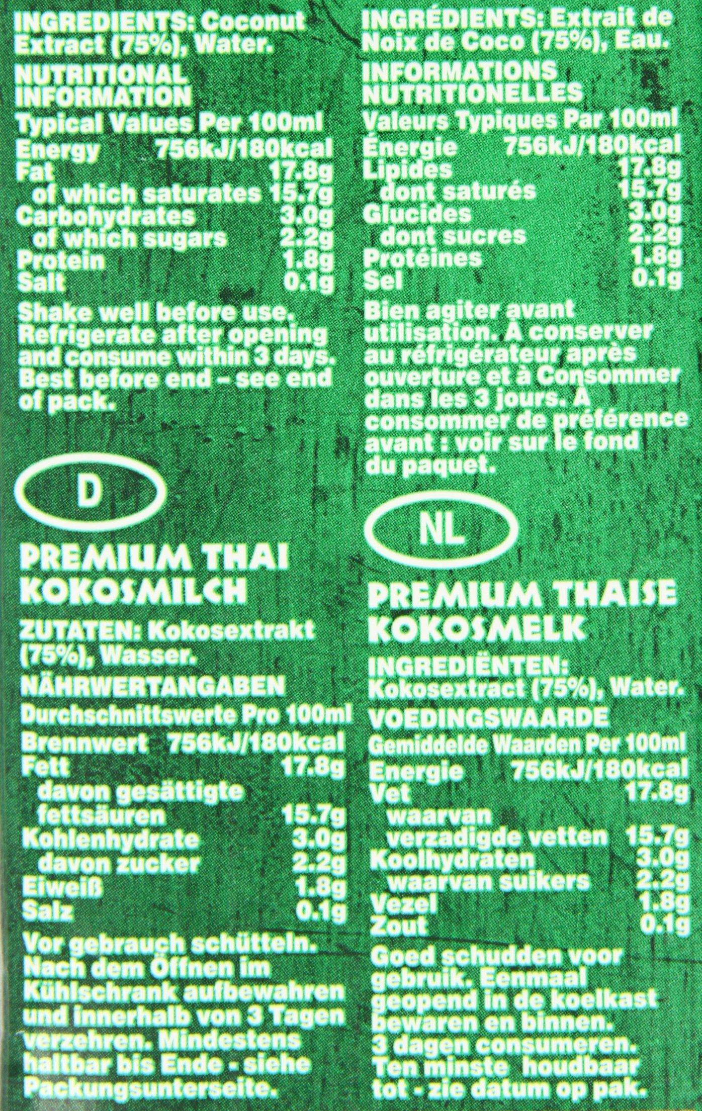Grace Premium Coconut Milk 1 Litre (Pack of 12) 3