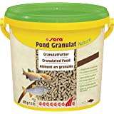 sera Pond Granulaat Nature 3,8 liter (600 g) - Het granulaatvoer voor grotere vijvervissen