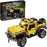 LEGO42122TechnicJeepWrangler4x4Speelgoed AutoModel,OffRoaderSUVVerzamelaars Bouwset voor Tieners