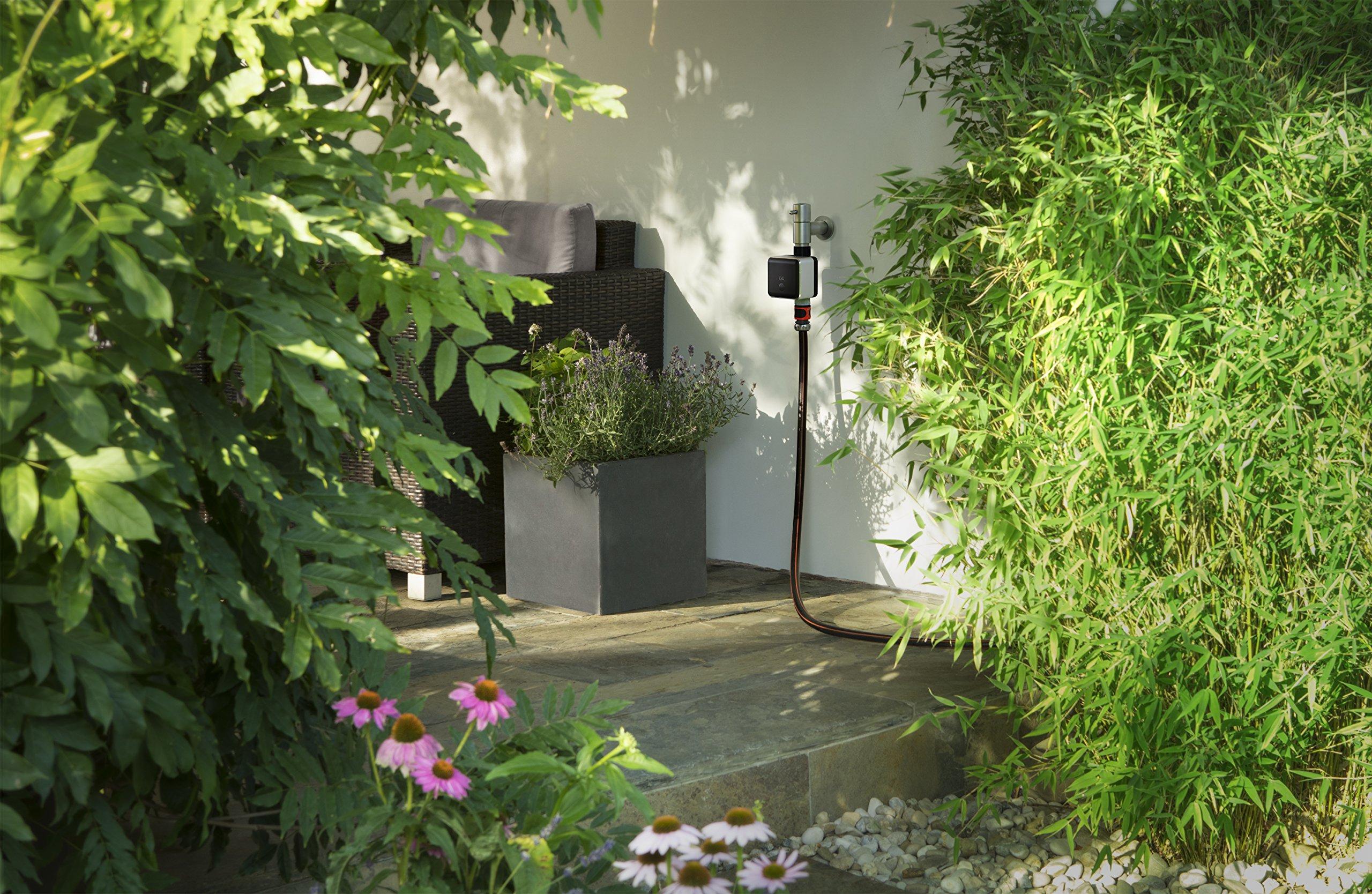 Eve Aqua (Vorgängermodell) - Smarte Bewässerungssteuerung per Home App, mit Zeitplänen automatisch bewässern, Siri…