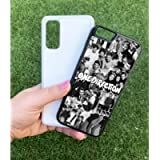 Collage 1D One Direction Portrait Personalised Name Case Cute Custom Aesthetic Harajuku Text Black White Kawaii Plastic…