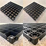Heavy Duty Garden Summer House Log Cabin Grids ECO500 Full Gravel Shed Base Grid With Included Free HD Membrane (2M X 1M…