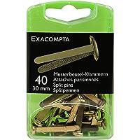 Exacompta Large Split Pins, Pack of 40