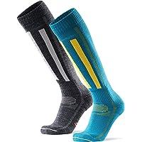 DANISH ENDURANCE Merino Wool Alpine Performance Socks, for Men, Women, Kids, Shin Padding, Breathable, Thermal, Knee…