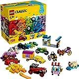 LEGO 10715 Classic Creatieve en Kleurrijke Bouwstenen met Vele Wielen, Constructiespeelgoed voor Peuters vanaf 4 Jaar