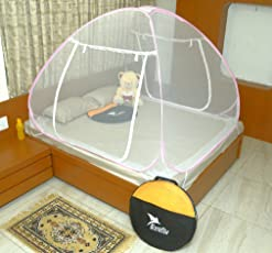 Evafly Foldable Mosquito Net (Size : Double Bed)