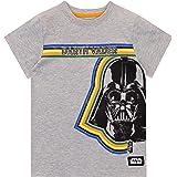 Star Wars Camiseta de Manga Corta para niños La Guerra de Las Galaxias Darth Vader
