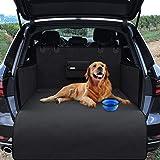 Protezione Telo Auto per Cani, Copertura Universale per Bagagliaio con Protezioni Laterali e Borsa, Impermeabile Lavabile Ant