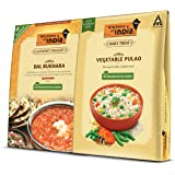 Kitchens of India Combo Pack - Dal Bukhara and Vegetable Pulao, 535 g