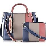 SaleBox® P.U. Leather Handbag/Shoulder Bag leather handbags for girls stylish latest Ideal for Women's & Girls Pack of Two(PM