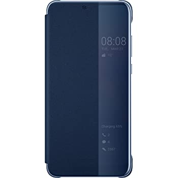 more photos ca178 aaf73 Huawei P20 Pro - Smart View Flip Cover, Black: Amazon.co.uk: Electronics