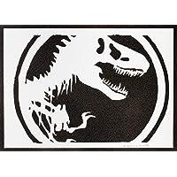 Poster Jurassic Park Handmade Graffiti Street Art - Artwork