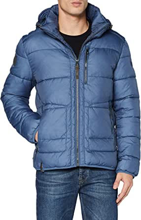 camel active Men's 4309704E4341 Quilted Jacket