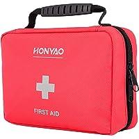 HONYAO Trousse de Premier Secours, Complète First Aid Kit Médicale - Boîte de d'urgence de Survie pour Voiture Maison…