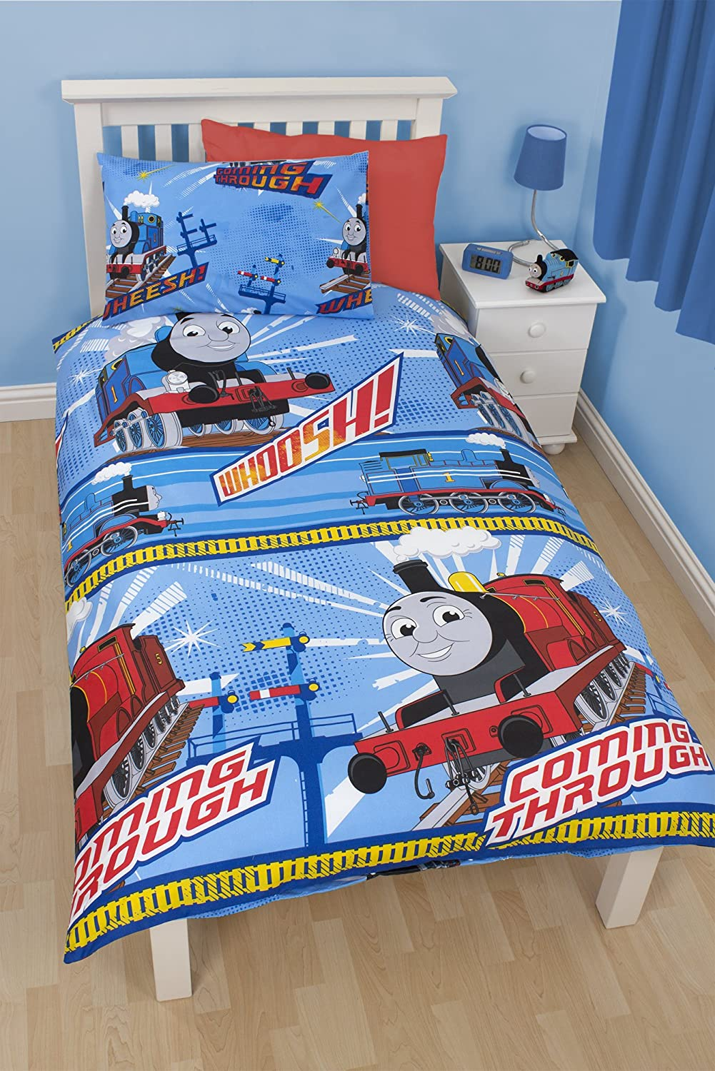 Thomas The Tank Wheesh Single Rotary Duvet Set  Amazon co uk  Kitchen   Home. Thomas The Tank Wheesh Single Rotary Duvet Set  Amazon co uk