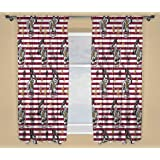 KidCo Harry Potter 'Muggles' Readymade Curtains 170cm x 180cm Drop