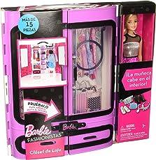 Barbie DPP64 Fashionistas Ultimate Closet Doll, Multi Color