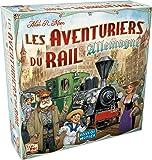 Asmodee Les Aventuriers du Rail-Allemagne Jeu de Société, AVE20, Multicolore