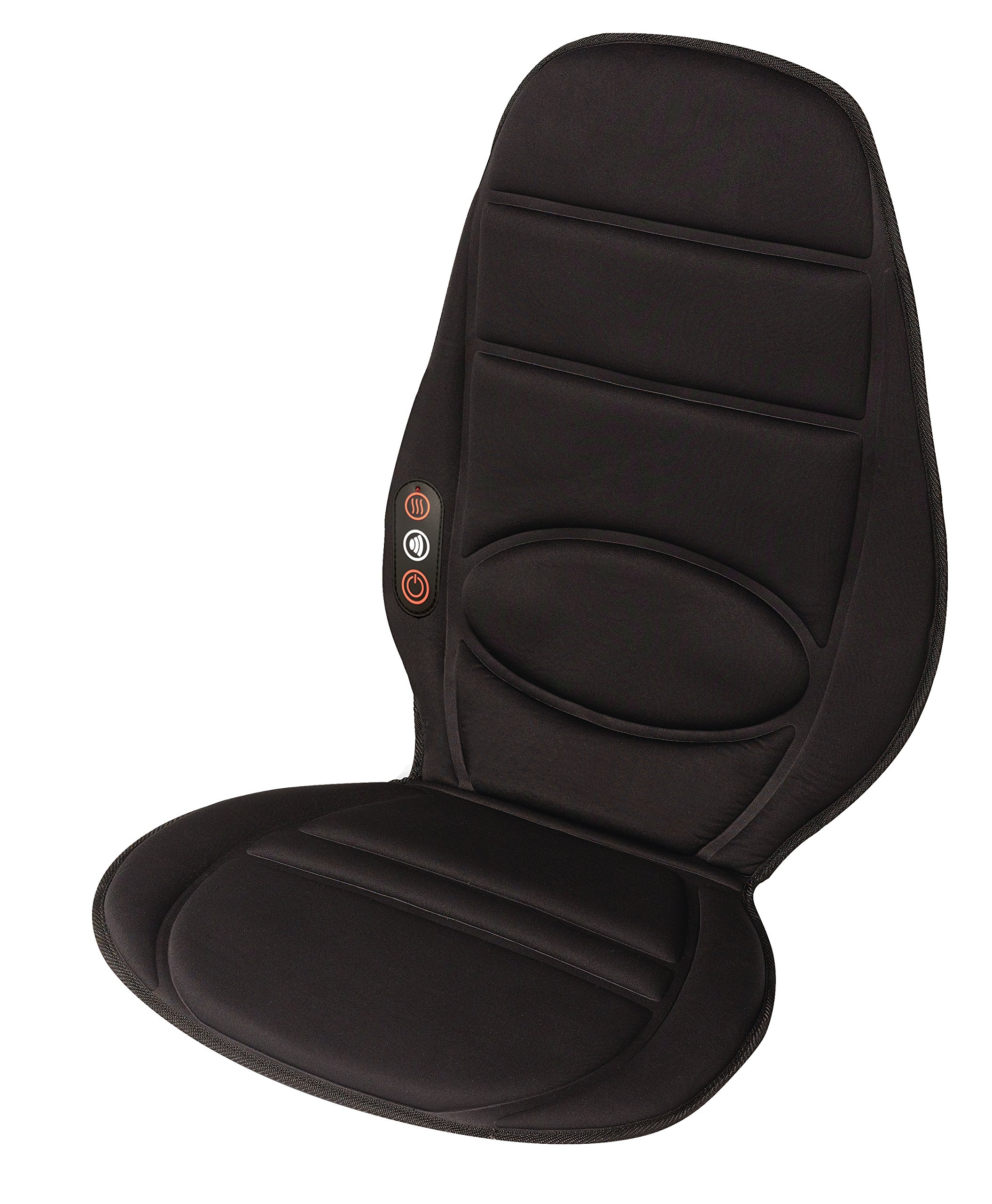 Vibrating Neck and Full Back Massage Seat Cushion Body Chair with