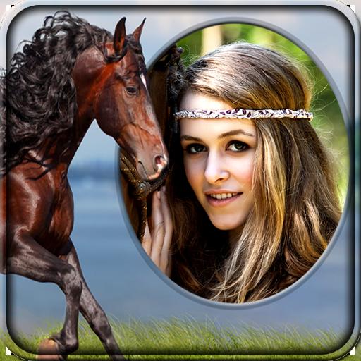 Marcos de la foto del caballo