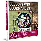 SMARTBOX - Coffret Cadeau Homme, Femme ou Couple - Idée cadeau original : Repas, ateliers culinaires, dégustations pour 1 ou