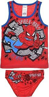 3 Slip bambino Spiderman 100/% cotone Sun City