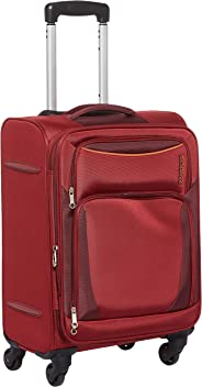 American Tourister Portland Softside Spinner Luggage Cabin trolley 55cm with TSA Lock - Red