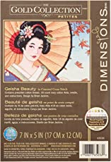 """Dimensions Counted Cross Stitch 5"""" X 7"""" - Asian"""