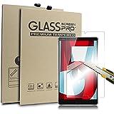 Supremery Bildschirm Glas Folie für Huawei MediaPad M5 (8,4 Zoll) Schutzfolie Panzerglas extra Hart gegen Kratzer und Stürze - Blasenfrei HD Clear (Premium Qualität)