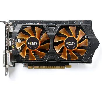 ZOTAC GeForce GTX 750 Ti 2GB OC (4 outputs, G-Sync) Graphics Card (Black/Orange)