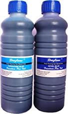 Daytone Fountain Pen Ink 500 ml. Turquoise & Royal Blue Twin Pack