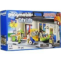 Playmobil - 5953 - Jeu de Construction - Hôpital Transportable