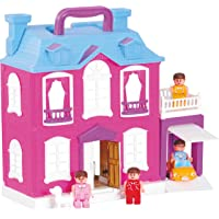 Toyzone Dream Palace Doll House/Play Set For Girls (40 Pcs) -Multicolour