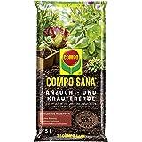 Compo Sana Terre à semis et boutures, la Terre spéciale pour aussaaten, Herbes, boutures de qualité et Jung, Plantes, 5l