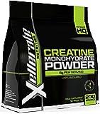 Kreatin Monohydrat Pulver | 1kg = 200 Portionen = 7 Monate Ration | Creatine Monohydrat Pulver, Hoch qualitatives, pures und geschmacksneutrales Sport-Pulver | Vegan
