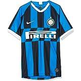 Nike Inter M Nk BRT Stad JSY SS Hm Short Sleeve Top, heren, Blue Spark / White, XS