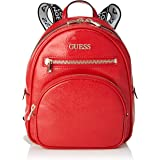 Guess New Vibe Backpack, Donna, Red, Taglia Unica