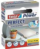 tesa extra Power Perfect Gewebeband - Gewebeverstärktes Ductape zum Basteln, Reparieren, Befestigen, Verstärken und…