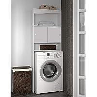 Symbiosis WC-Machine à Laver-Corps Blanc-Façade Blanche/6090A2121A17