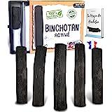 baytiz | Filtre à Eau Végétal au Charbon Actif - Baton de Binchotan Bio x5 - Purifier l' Eau du Robinet - en Bois Naturel - C