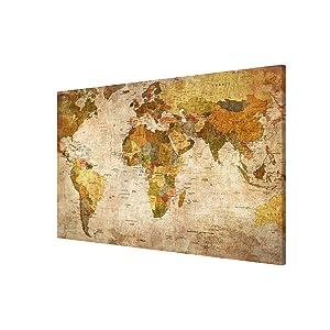 Magnettafel Weltkarte Memoboard