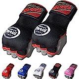 Farabi Kids Junior Inner Hand Wraps Gloves Easy Gel Padded Boxing Easy Gloves Pair