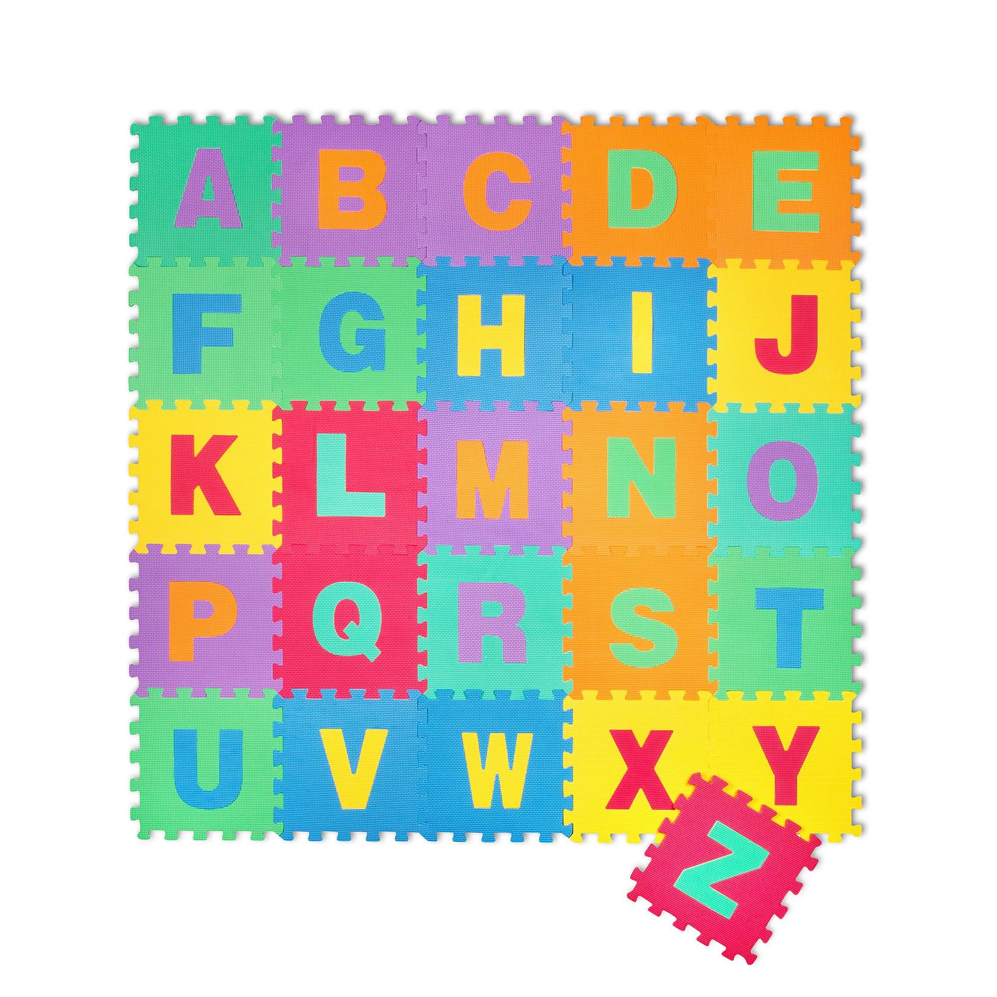 Puzzle goma eva de 26 piezas alfombra infantil puzzle de - Alfombras antiacaros ninos ...