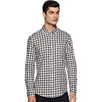 Amazon Brand - Symbol Men's Slim Fit Casual Shirts